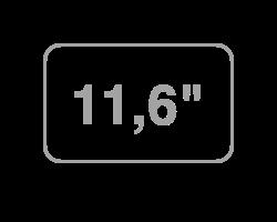 "11,6"""