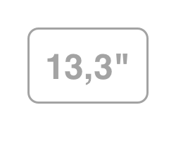 "13,3"""