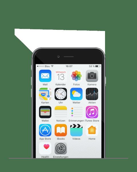 iPhone Display Wechsel in Ersatzqualität