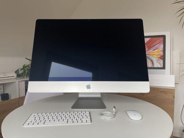 Apple iMac (Retina 5K, 27 Zoll, 2017) 3,8GHz 8GB, 2TB, 580 8GB ✔Sehr gut
